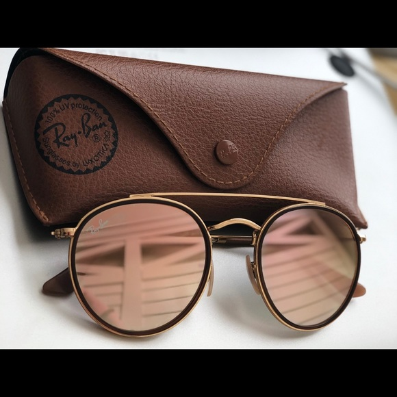 b54e2ed9d2 Ray ban round double bridge bronze-copper. M 5a9703d46bf5a6fc5f95ec40